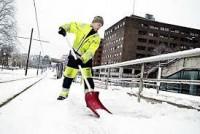 Fizyczna praca Norwegia w Asker przy odśnieżaniu od zaraz bez języka